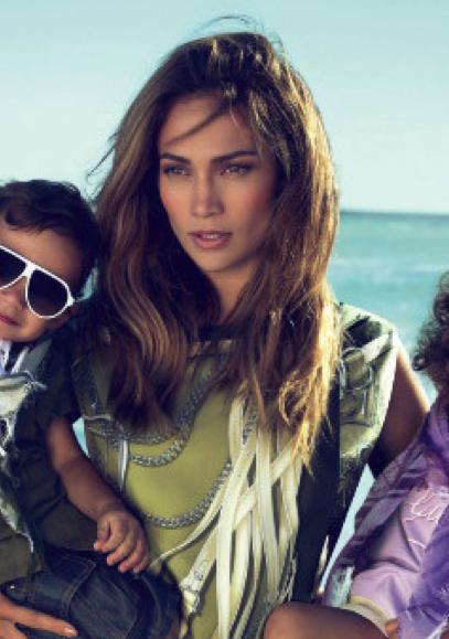 jennifer lopez twins gucci ads. Jennifer Lopez may be one of