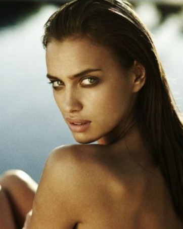 irina shayk paint. MODEL TALK | BEAUTY